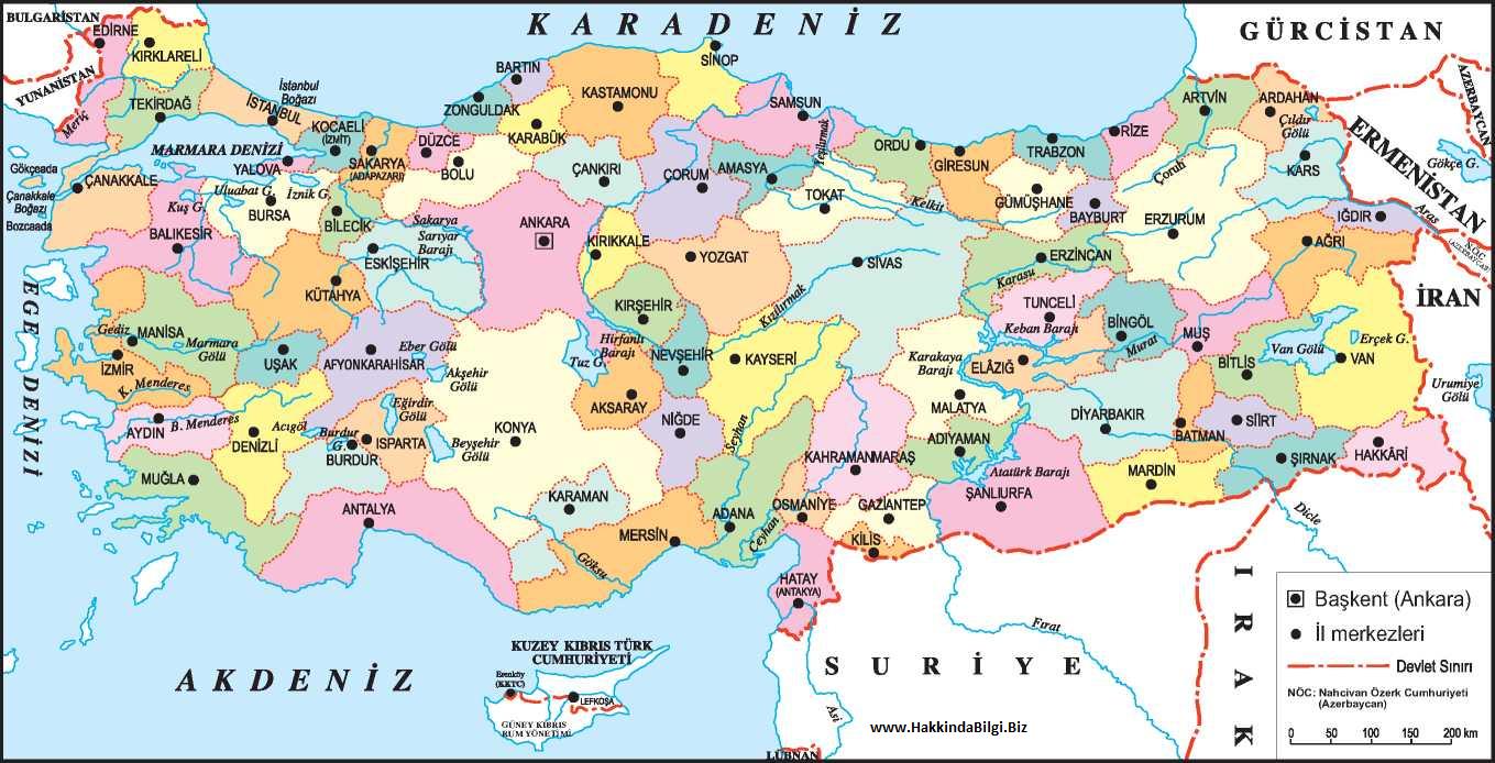 در باره ترکیه